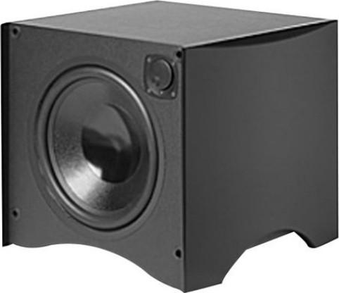 atlantic technology 224sb blk subwoofer active speaker. Black Bedroom Furniture Sets. Home Design Ideas