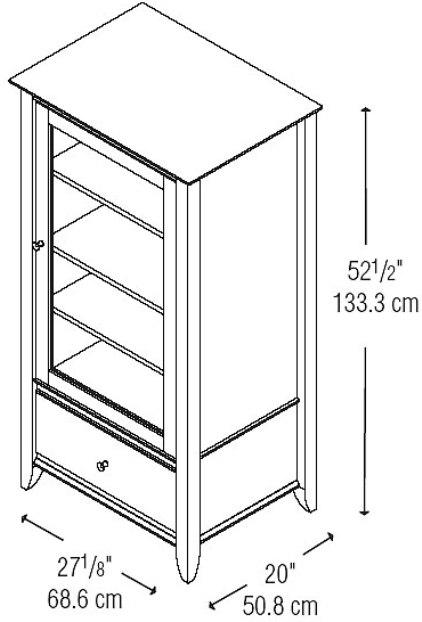 audio cabinet plans