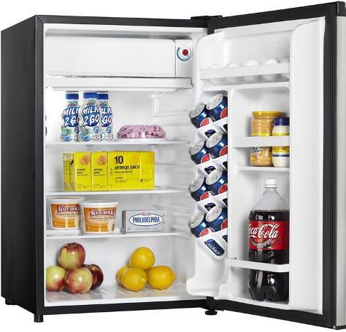 Danby Dcr122bsldd Designer Series Compact Refrigerator