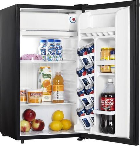 Danby Dcr88bldd Designer Series Compact Refrigerator With
