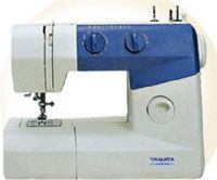Buy cheap sewing machines. - Yamata FY720 Multi-function Domestic Sewing Machine,800 stitches per minute, 10 stitch patterns, 3-step buttonholing (FY-720 FY 720)