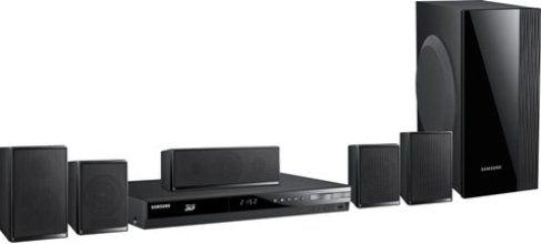 Buy Samsung Digital Media Receivers - Samsung HT-E4500 Home theater system, Speaker system, Blu-ray disc player / AV receiver Components, Surround Sound Sound Output Mode, Dolby Pro Logic II, DTS 96/24, Dolby Digital, DTS decoder, Dolby Digital Plus, DTS-HD decoder, Dolby TrueHD Built-in Decoders, Blu-ray, Network, USB-host Media Content Source, CD-R, CD-RW, DVD-R, DVD+RW, DVD-RW, DVD+R, DVD, CD, BD-R, BD-RE, Blu-ray Disc Media Format, Digital Sound Processor, UPC 036725617902.(HTE4500 HT-E4500 HT E4500)
