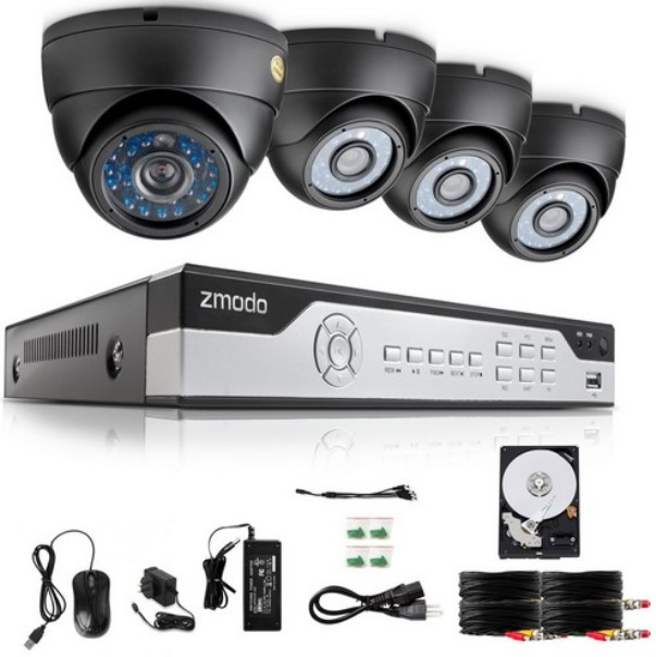 Zmodo Kil4 Marzbz4n 1t Four Channel 960h H 264 Real Time