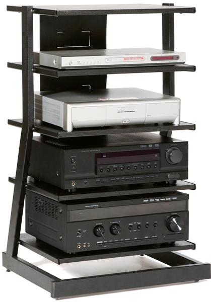 Plateau 758019000992 Model Z 5a B Fixed Shelf Rack Audio