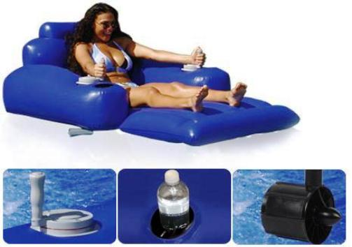 Excalibur Pr10 Motorized Pool Lounger Large Comfortable
