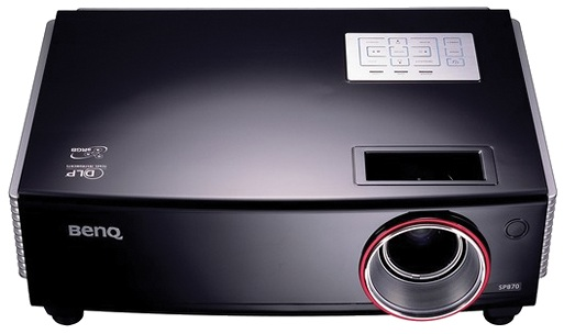 benq 9h 0cg77 q5a model sp870 dlp multi
