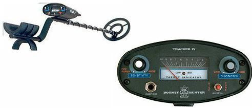 Bounty Hunter TRACKER IV Metal Detector Discrimination control 8