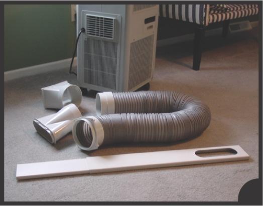 Soleus air windowkitdouble two hose window kit for soleus for Window vent kit