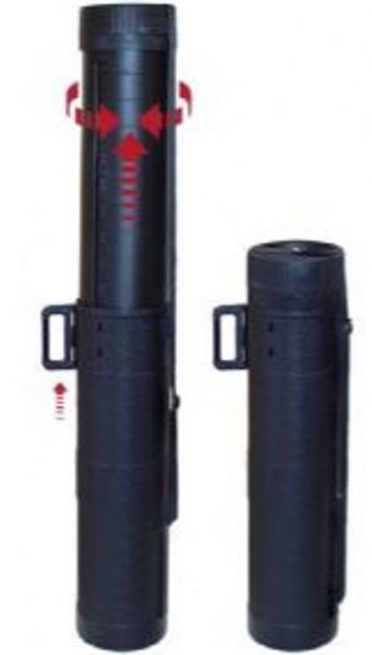 Buy hiking equipment - Alvin ZOOM6 Zoom Telescopic Tube, 6\' - 154mm inside diameter 7\' width, Rugged plastic construction with comfortable and adjustable carrying strap, \'\' protective foam in top and bottom, Use for storing or carrying golf clubs, fishing rods, water sports gear, tents and camping items, hiking equipment, architectural plans and trade show graphics, UPC 088354948445 (ZOOM-6 ZOOM 6)