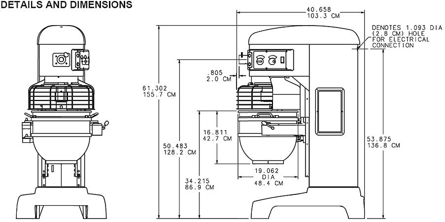 Hobart N50 Service manual
